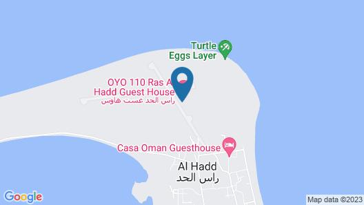 OYO 110 Ras Al Hadd Guest House Map