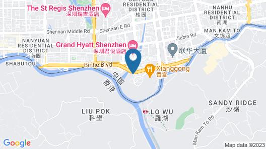 Best Western Premier Shenzhen Felicity Hotel Map