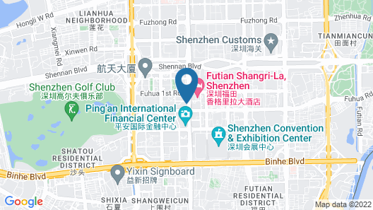 The Ritz-Carlton, Shenzhen Map