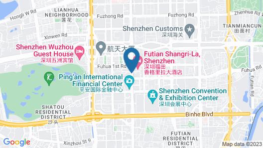 Park Hyatt Shenzhen Map
