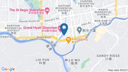 Shangri-la Hotel, Shenzhen Map