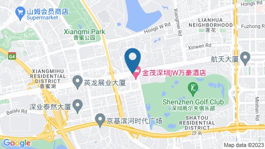 JW Marriott Hotel Shenzhen Map