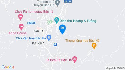 Bac Ha Eco Homestay - Hostel Map