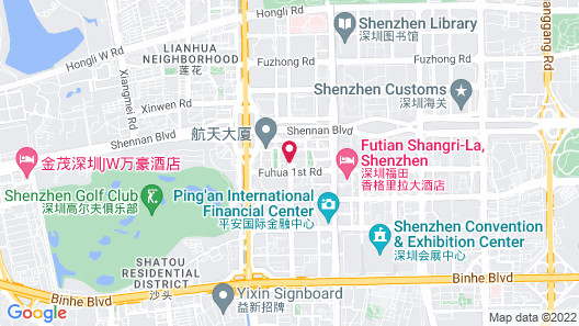 Four Seasons Hotel Shenzhen Map