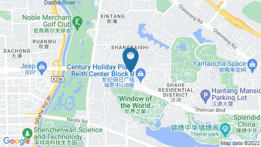 The Venice Hotel Shenzhen Map