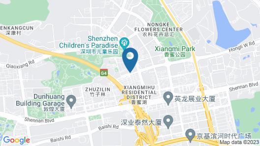The Langham, Shenzhen Map
