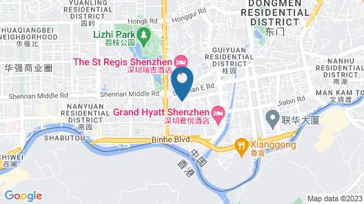 Grand Hyatt Shenzhen Map