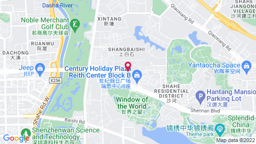 The Westin Shenzhen Nanshan Map