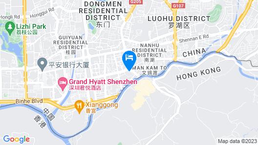 Shenzhen Lido Hotel Map
