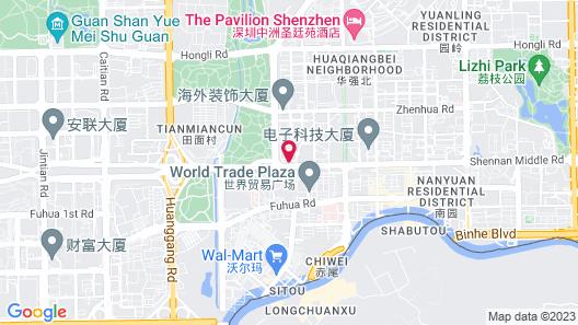 Grand Skylight Hotel Shenzhen Map