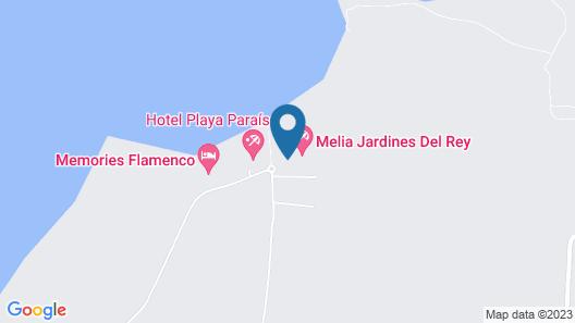 Melia Cayo Guillermo - All Inclusive Map
