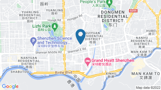 Hedong Citycenter Hotel Map