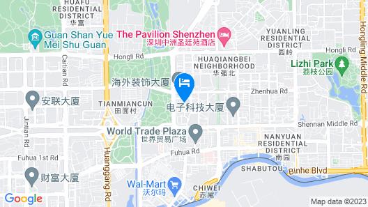 Jia Relax Hotel Shenzhen Map