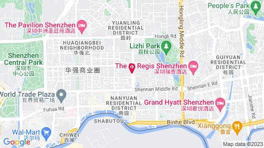 Shenzhen Uniton Hotel Map