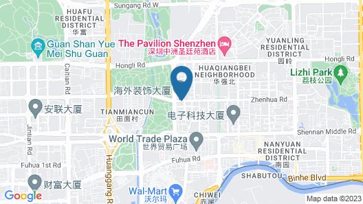 Fraser Suites Shenzhen Map