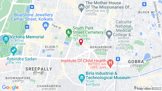 Hotel Crestwood Map