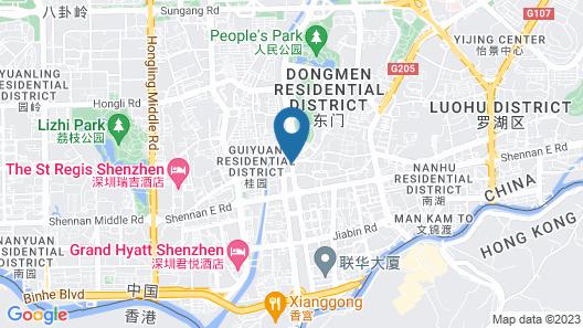 Crowne Plaza Hotel & Suites Landmark Shenzhen, an IHG Hotel Map