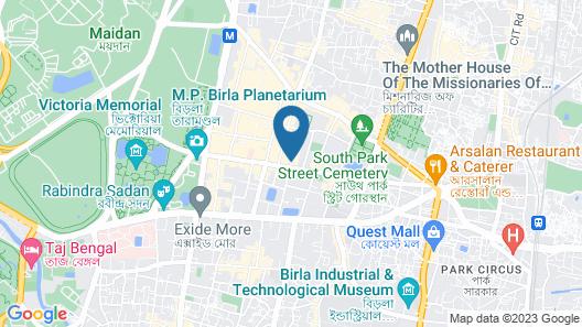 PALLAVI INTERNATIONAL HOTEL Map