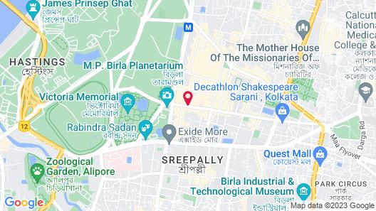 Kenilworth Hotel, Kolkata Map