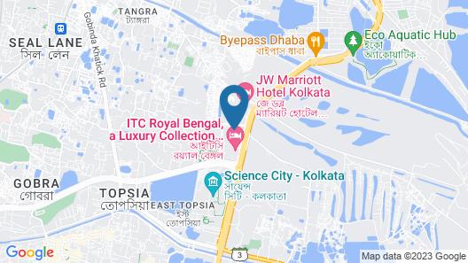 ITC Royal Bengal, a Luxury Collection Hotel, Kolkata Map
