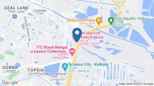JW Marriott Hotel Kolkata Map
