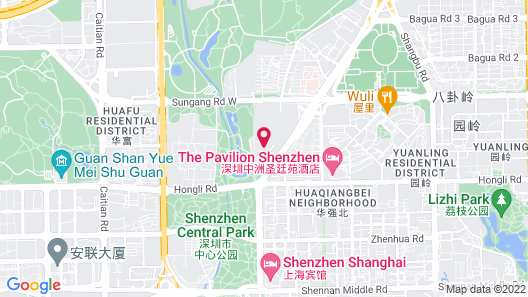 The Pavilion Hotel Map