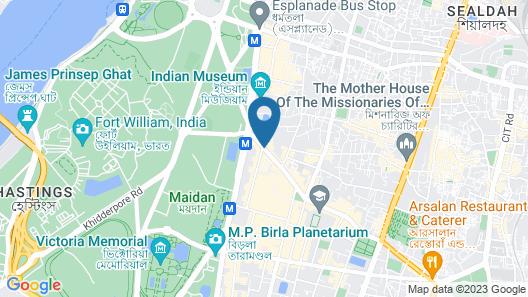 The Park Kolkata Map