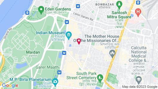 Hotel Kempton Map