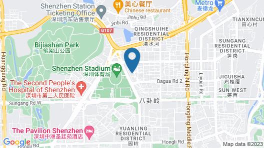 Mint Appart International Hotel (Shenzhen Futian Center) Map