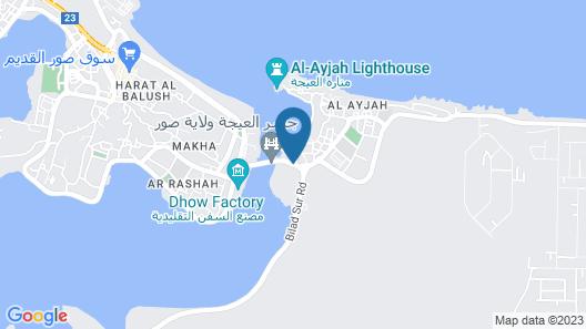Al Ayjah Plaza Hotel Map