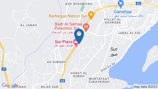 OYO 108 Marsa Al Masafar Hotel Apartment Map