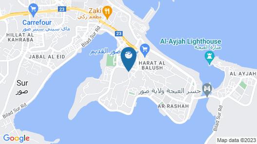 Al Jumhour Hotel Apartments Map