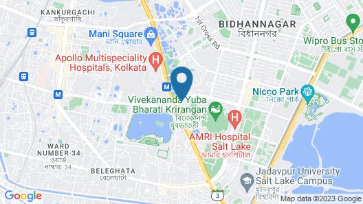 Hyatt Regency Kolkata Map