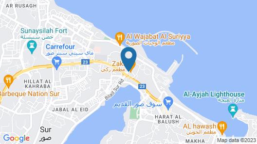 Zaki Hotel Apartment Map