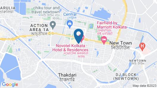 Novotel Kolkata Hotel & Residences Hotel Map
