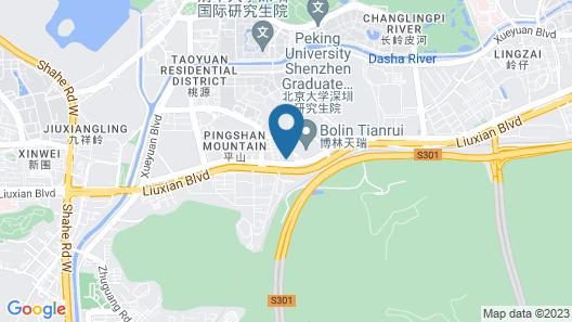 Sheraton Shenzhen Nanshan Map