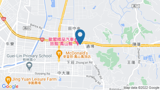 Ouge Motel Fengshan Map