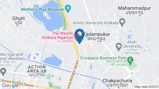The Westin Kolkata Rajarhat Map