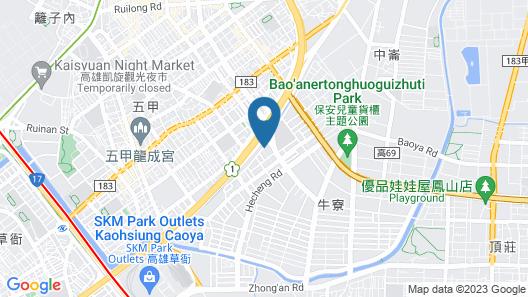 Leedon Motel Map