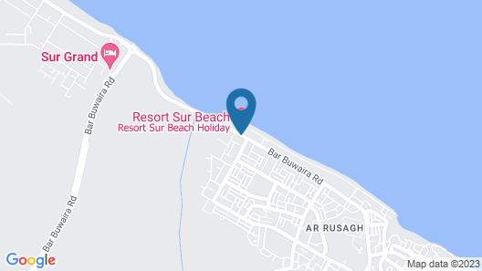 Resort Sur Beach Holiday Map