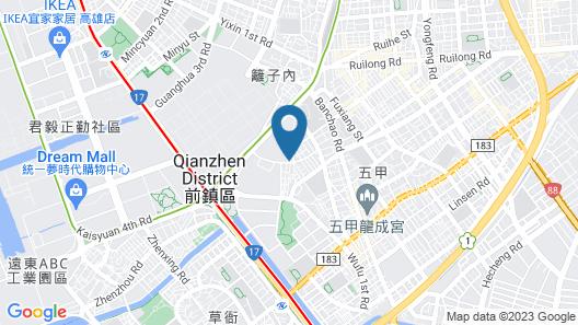 HOYA Resort Hotel Kaohsiung Map