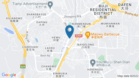 Atour Hotel East Station Shenzhen Map