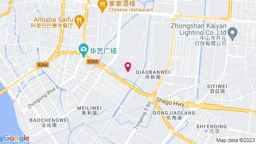 Hilton Garden Inn Zhongshan Guzhen Map
