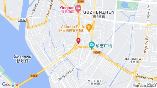 Huayu Landmark Hotel Map