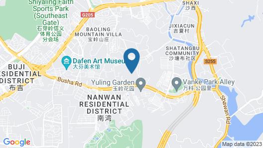Shenzhen Kinghome Hotel Map