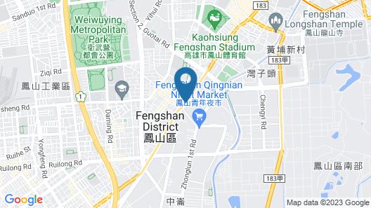 Spring Art Hotel (Hao Ying Hotel) Map