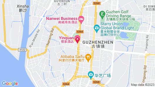 Zhongshan Yinquan Hotel Map
