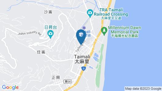 Sunrise Hotel & Resort Taimali Map