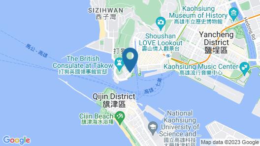 Watermark Hotel Sizihwan Map