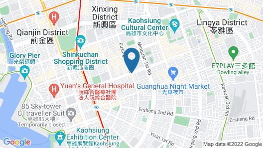 Han Hsien International Hotel Map